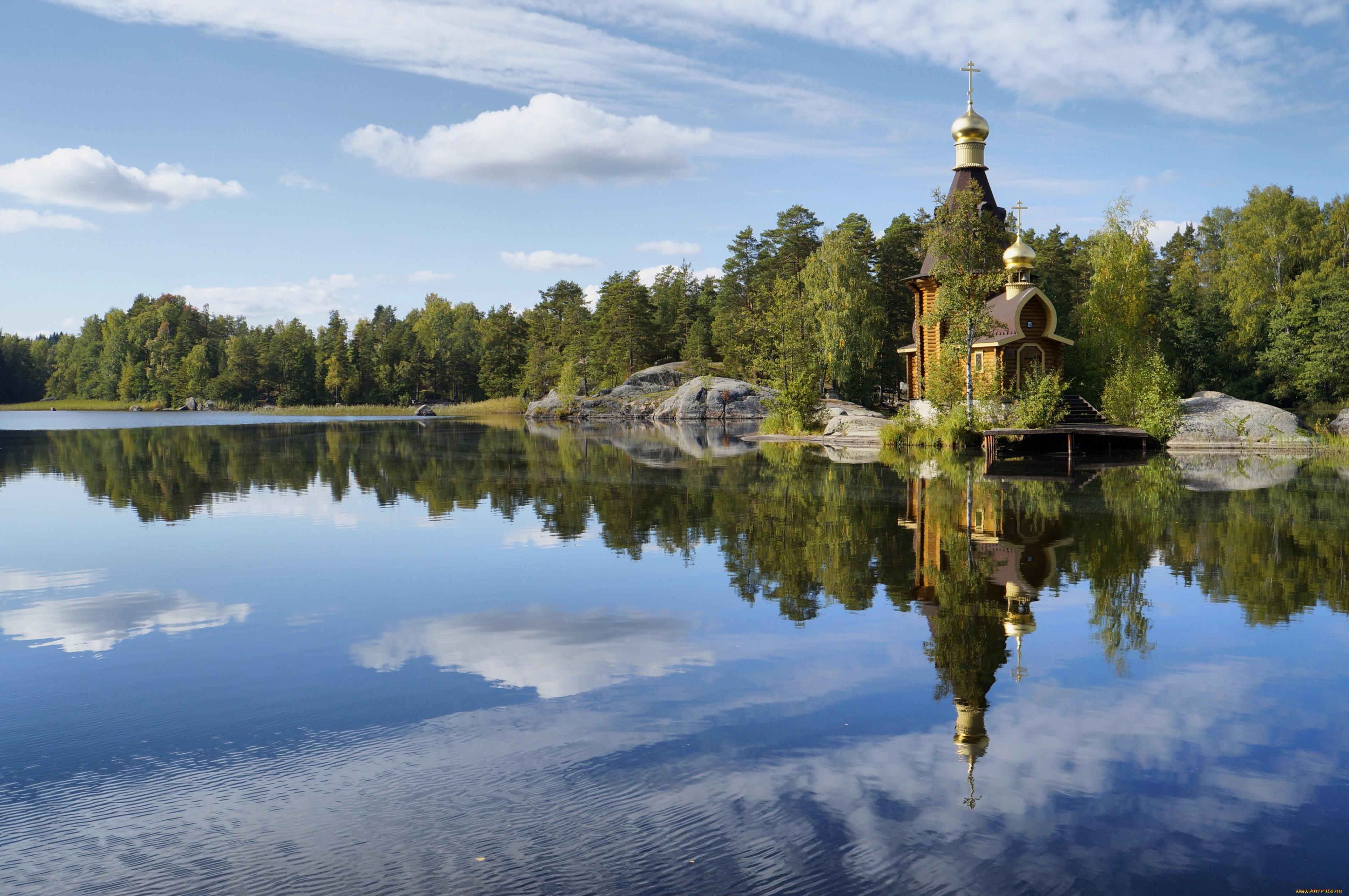 обои на рабочий стол православные храмы и монастыри лето № 217066  скачать