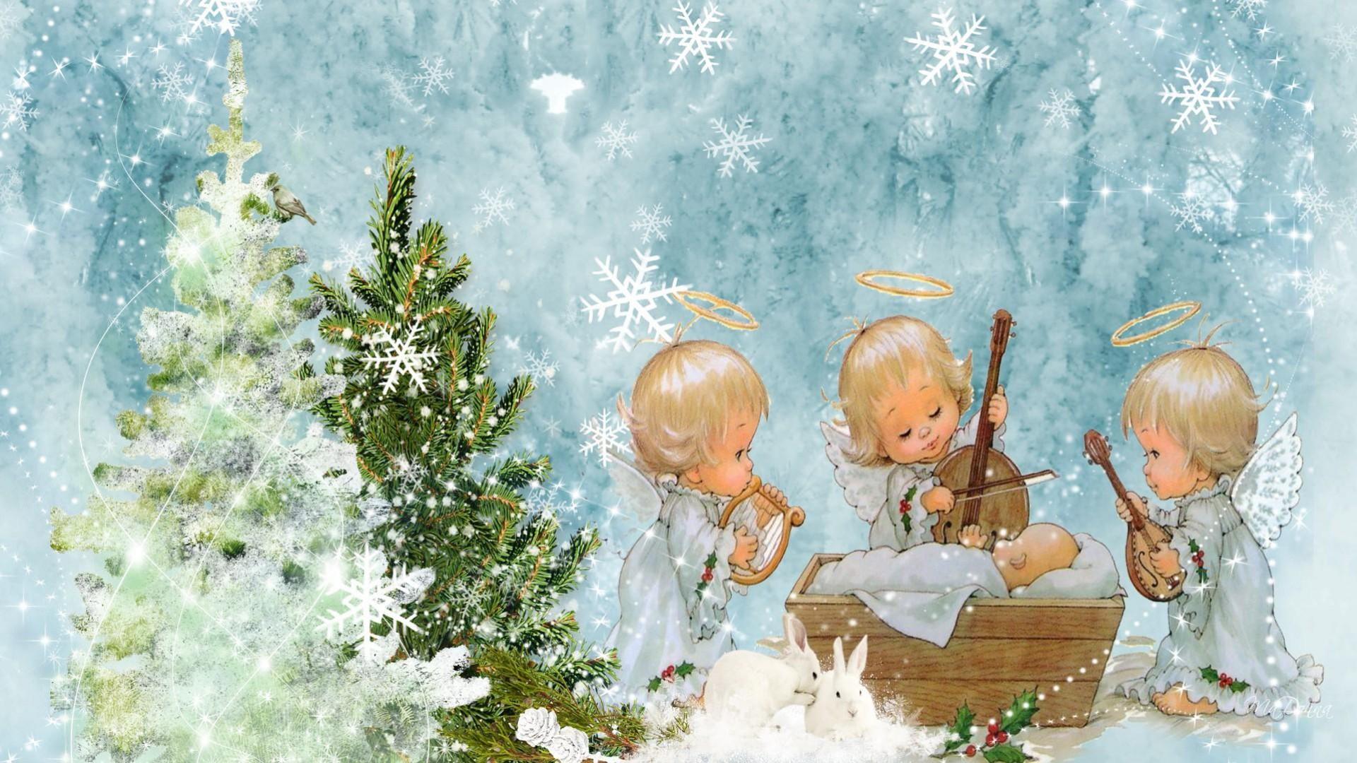 Ангел рождество Angel Christmas в хорошем качестве