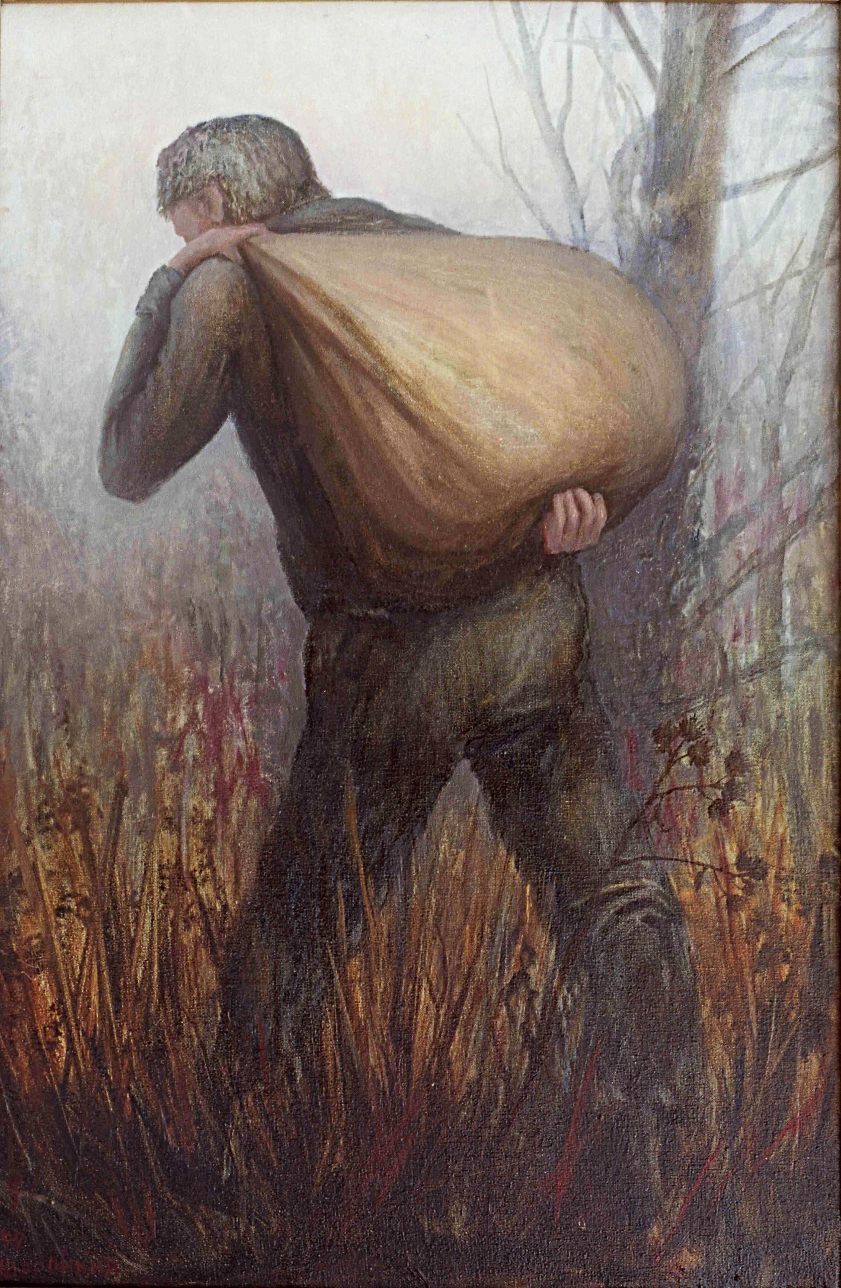 картинка человек мешок жизнь